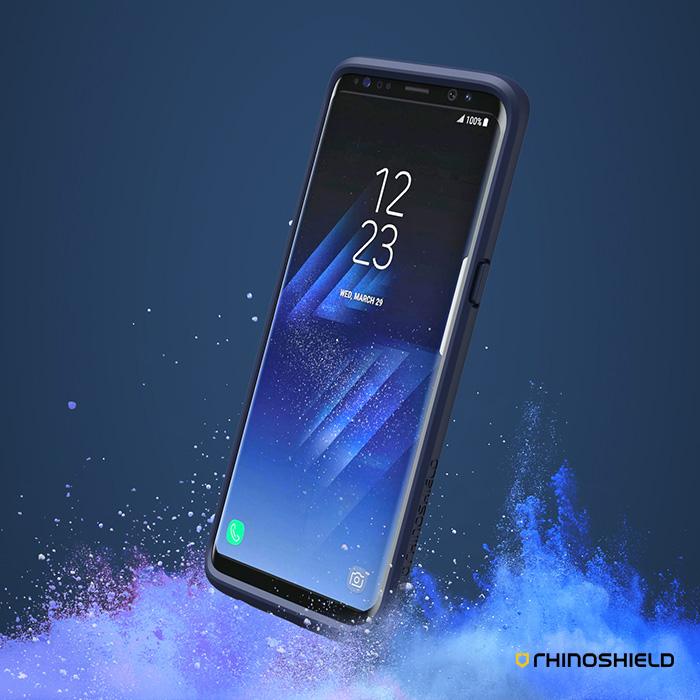 犀牛盾三星Samsung Galaxy S8 5.8吋 CrashGuard防摔手機殼S8 (5.8吋) - 黑色