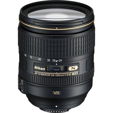 【保護鏡配組】NIKON AF-S NIKKOR 24-120mm f/4G ED VR 平行輸入 -白 店家保固一年