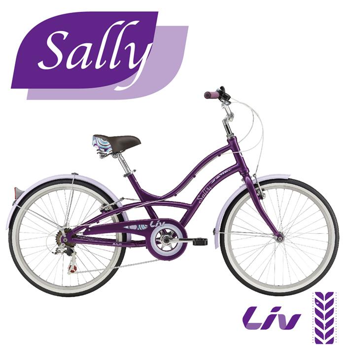 限時殺▼【GIANT】 LIV SALLY 低跨點時尚風格淑女車 時尚紫/鮮綠白 (顏色於門市領車時選擇)