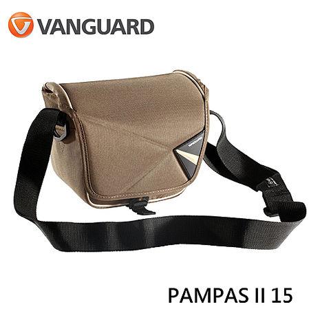 Vanguard 精嘉 PAMPAS II 15 彭巴系列 單肩 斜背 側背包 相機 攝影包紅色