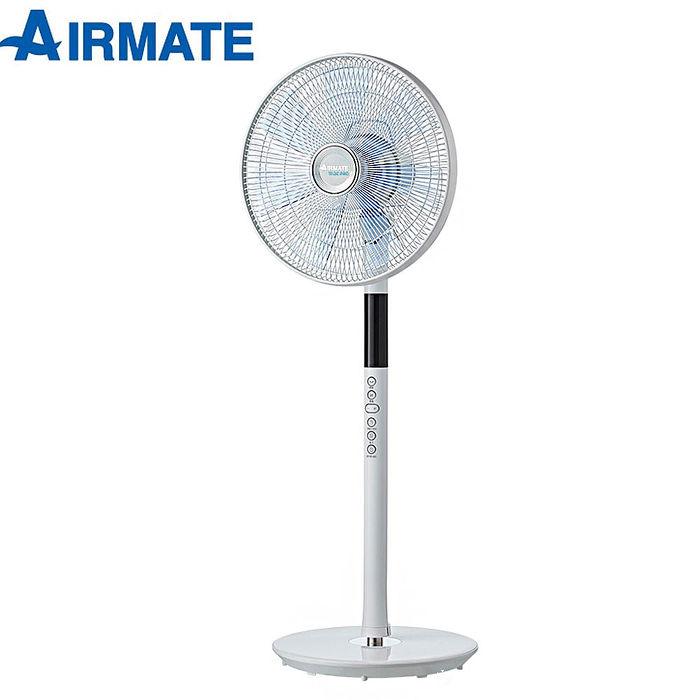 【AIRMATE艾美特】16吋八字擺頭DC節能遙控立地電扇FS4063DR