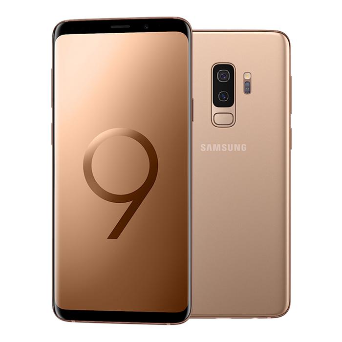 【贈 玻保/空壓】 Samsung GALAXY S9+ 6G/128G 6.2吋雙光圈旗艦機 - 晨漾金