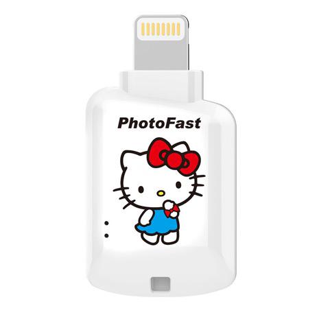 【PhotoFast】Hello Kitty 蘋果microSD讀卡機 CR-8800(不含記憶卡)