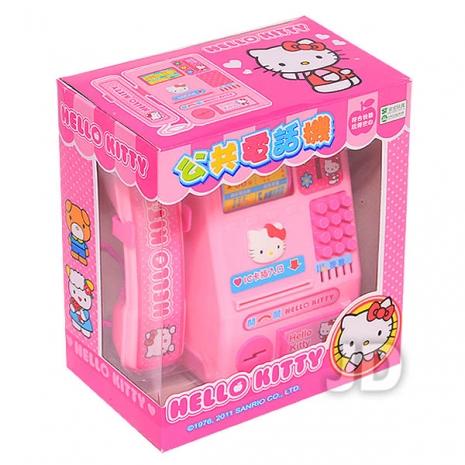 任選-【Hello Kitty-家家酒系列】KT公共電話機 (A229)