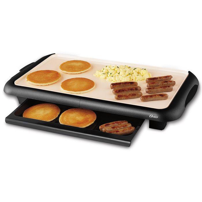 ★福利品★美國OSTER-BBQ陶瓷電烤盤CKSTGRFM18W-TECO