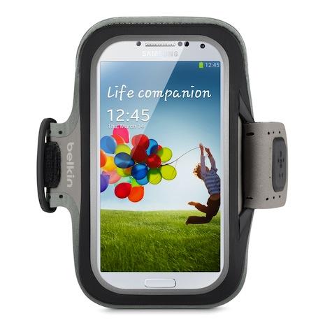 Belkin 舒適 運動 臂套 Armband Galaxy S4 黑色