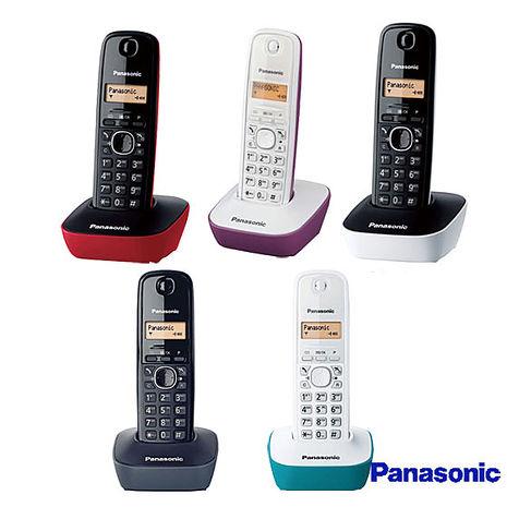 【國際牌Panasonic】數位無線電話 KX-TG1611(公司貨)黑
