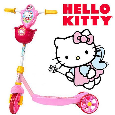 代理HELLO KITTY 凱蒂貓 KT 高端版 閃亮滑板車