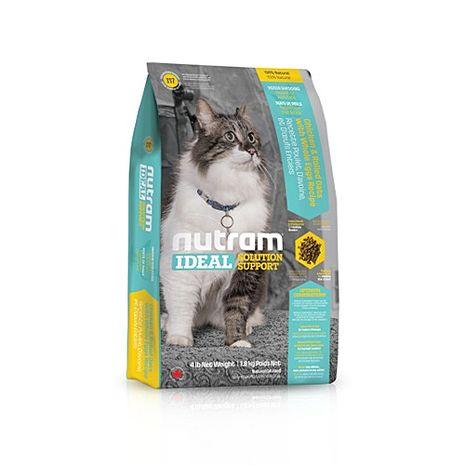【Nutram】紐頓 專業理想系列-I17室內貓化毛貓雞肉燕麥 1公斤 X 1包