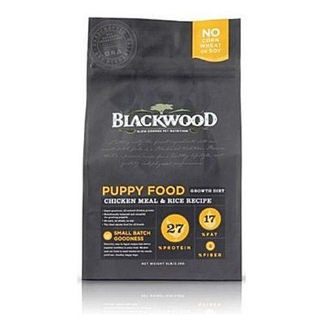 【Blackwood】柏萊富 特調幼犬成長(雞肉+米) 犬糧 15磅 X 1包