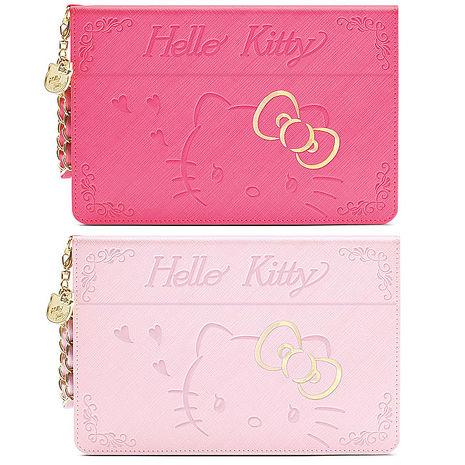 GARMMA Hello Kitty iPad mini 4摺疊式皮套–金豔款金豔粉