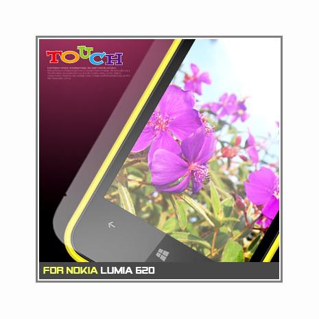 Nokia Lumia 620專用高透防刮無痕螢幕保護貼