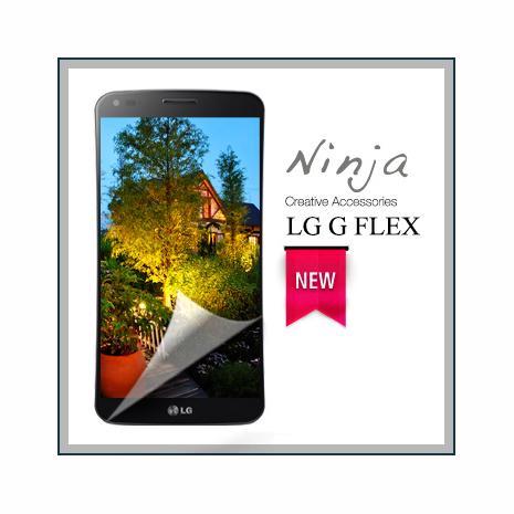 【東京御用Ninja】LG G FLEX專用高透防刮無痕螢幕保護貼