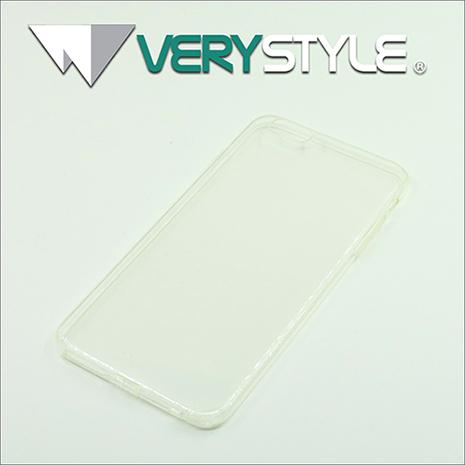 【非常時代VERY STYLE】iPhone 6s Plus (5.5吋) 經典時尚自帶防塵塞超薄TPU清水保護套(透明)