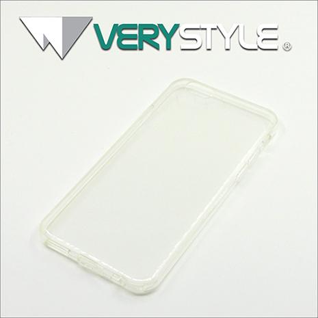 【非常時代VERY STYLE】iPhone 6s (4.7吋) 經典時尚自帶防塵塞超薄TPU清水保護套(透明)