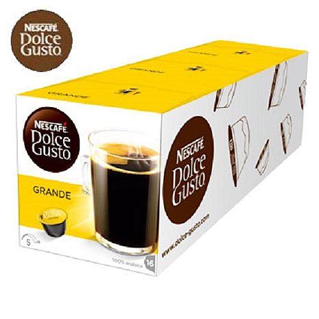 雀巢NESCAFE 美式醇郁濃滑咖啡膠囊 (Grande Crema) 3盒/條入