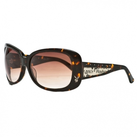 ★PLAYBOY-時尚太陽眼鏡(琥珀色)