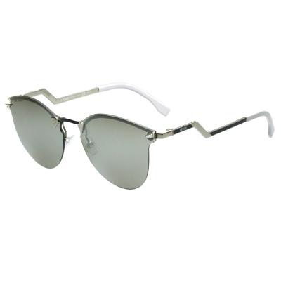 FENDI 廣告款 時尚太陽眼鏡(反光鏡面)