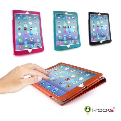 i-Rocks iPad mini 3 專用皮革保護皮套 IRC29A咖啡