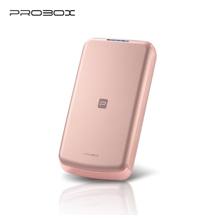 (APP搶購) PROBOX panasonic電芯 流線型超薄 8300mAh 行動電源-玫瑰金