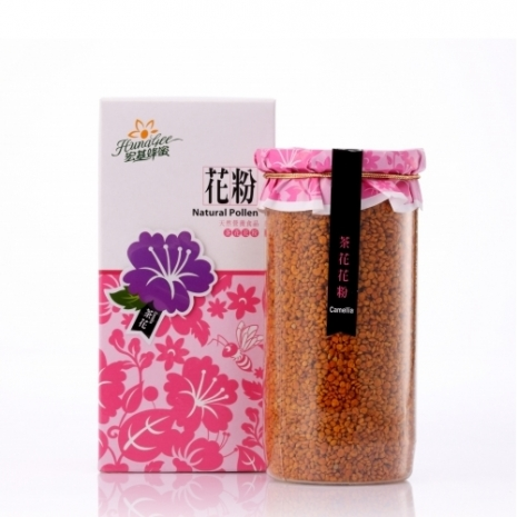 【宏基蜂蜜】茶花花粉(250g/罐)