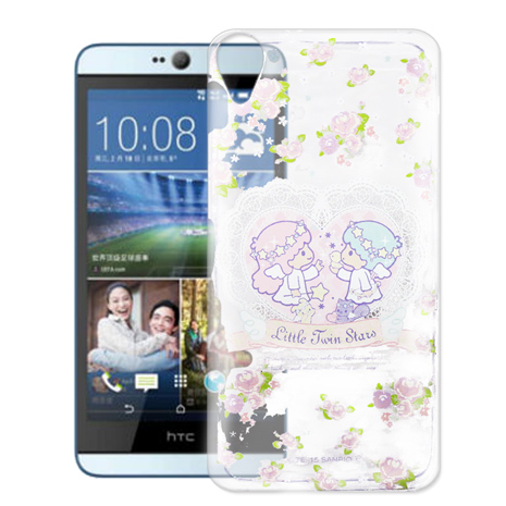 Little Twin Stars KiKiLaLa HTC Desire 826 826w 透明軟式手機殼(天使雙子星)