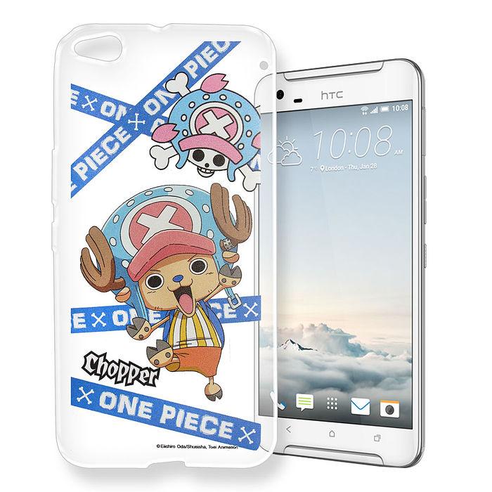 東映授權正版 航海王 HTC One X9 透明軟式手機殼(封鎖喬巴)
