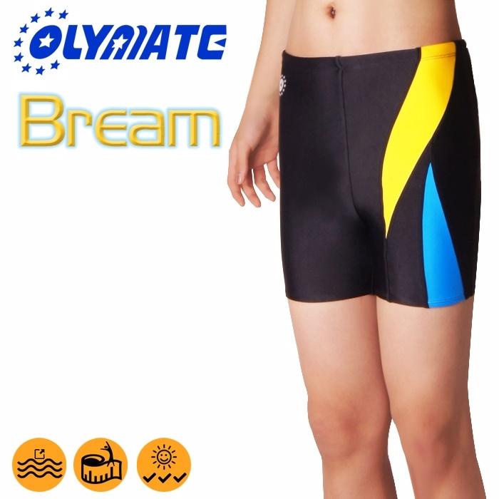 OLYMATE Bream 專業四角休閒泳褲L