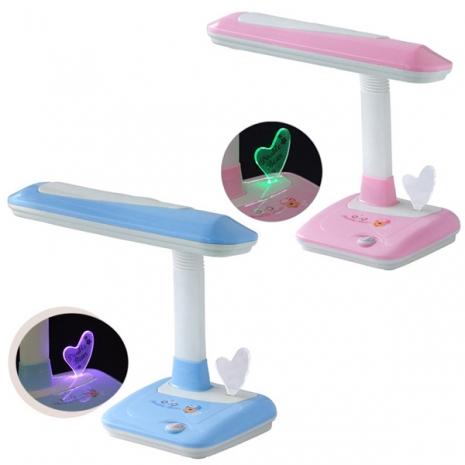 優雅牌 大寶熊星情檯燈(附LED小夜燈) UY-2710藍