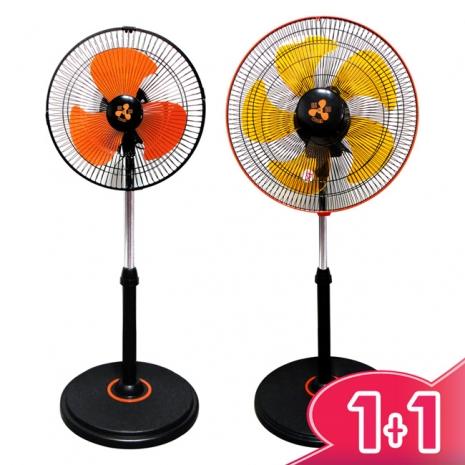 伍田超廣角循環涼風扇 WT-1211+WT-1611(12吋+16吋超值組)