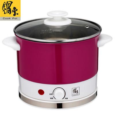 【鍋寶】炫彩不鏽鋼多功能美食鍋 BF-150-D 特賣