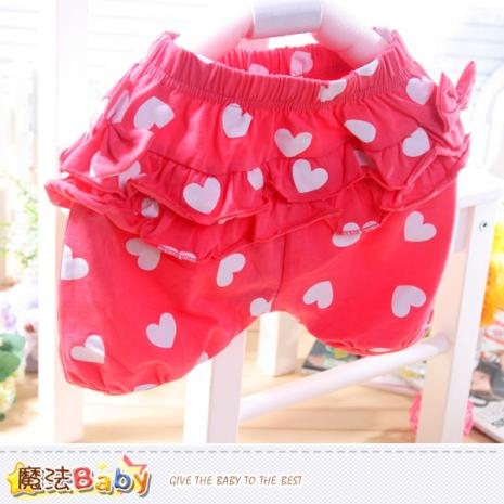 魔法Baby~短褲~女寶寶泡泡褲~嬰幼兒服~k352613