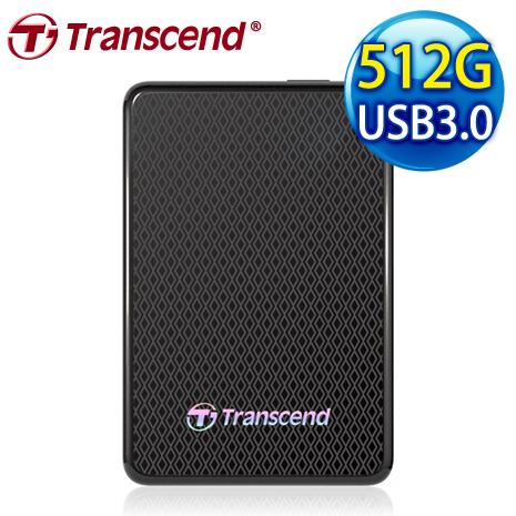 Transcend 創見 ESD400 512G 1.8吋 USB 3.0 外接式固態硬碟
