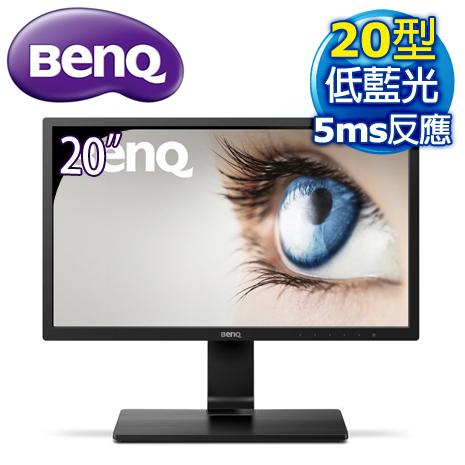 BenQ 明基 GL2070 20型 不閃屏低藍光 護眼寬螢幕