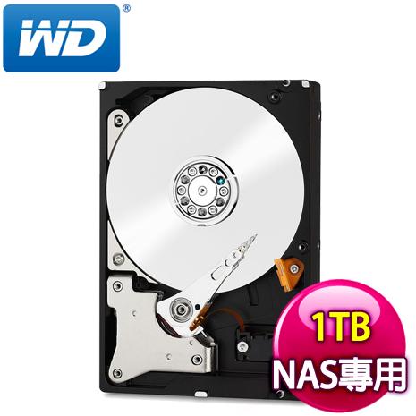 WD 威騰 Red 1TB 3.5吋 5400轉等級 64M快取 SATA3紅標硬碟WD10EFRX