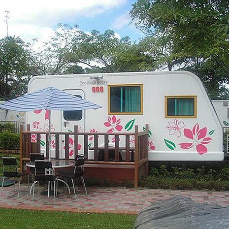 【嘉義】詩情花園-六星級RV露營車雙人平日住宿券