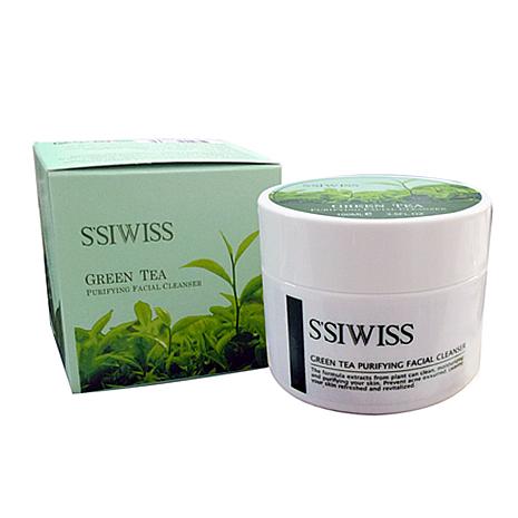 【S'SIWISS】綠茶雙效潔容霜100ml