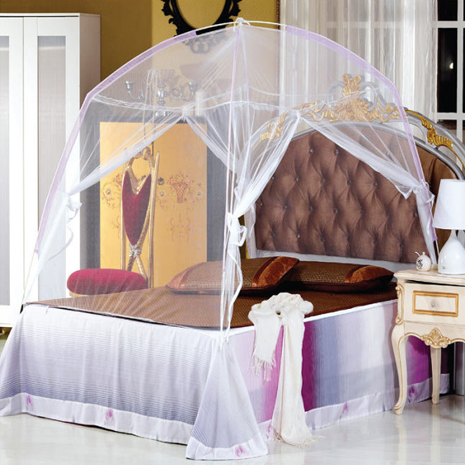【ceres席瑞絲】蒙古包帳篷式雙開門蚊帳單人、雙人、加大單人