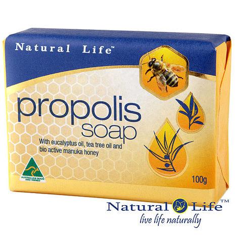 澳洲Natural Life蜂膠深層淨化潔膚皂100g