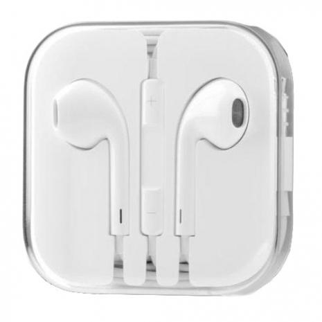 西歐科技 Apple iPhone 時尚立體聲線控麥克風耳機 (副廠)