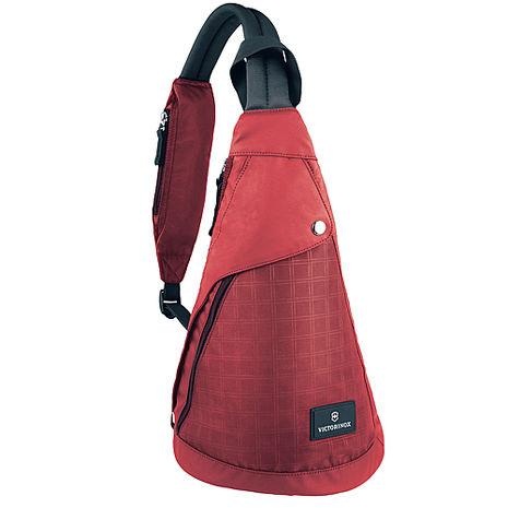 VICTORINOX 瑞士維氏Altmont 3.0時尚單肩背包-紅/藍/黑 三色任選黑