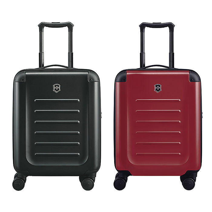 VICTORINOX 瑞士維氏Spectra 2.0輕量級霧面硬殼20吋登機箱-黑/紅 2色任選紅