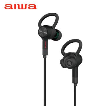 AIWA EB601 藍芽入耳式耳機-黑