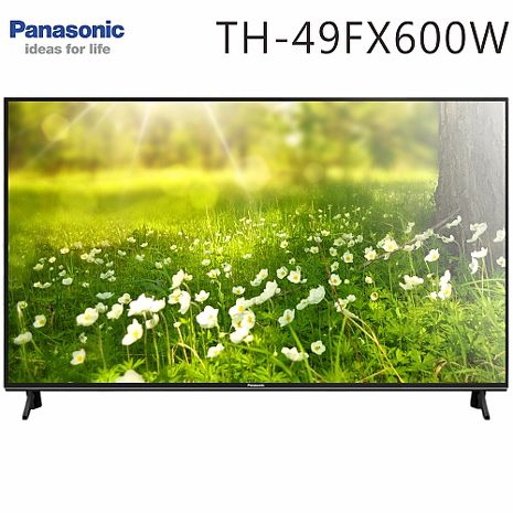 Panasonic國際 49吋 4K 聯網液晶顯示器+視訊盒(TH-49FX600W)送基本安裝