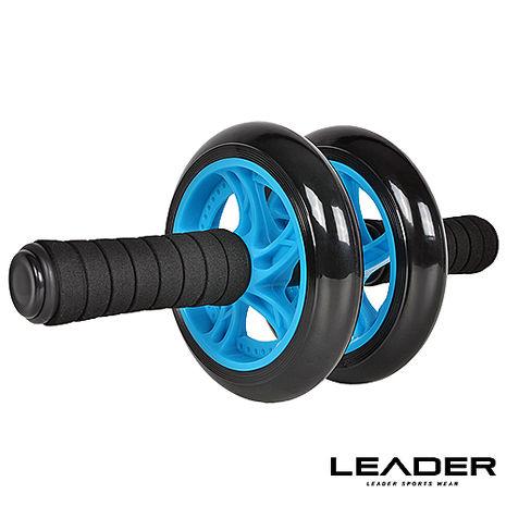 【Leader X】超靜音滾輪健身器 健腹器 滾輪