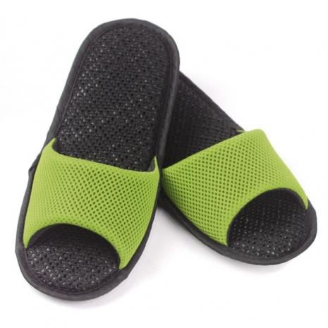 AC Rabbit 開口型低均壓氣墊拖鞋(馬卡龍色系)-嫩芽綠L