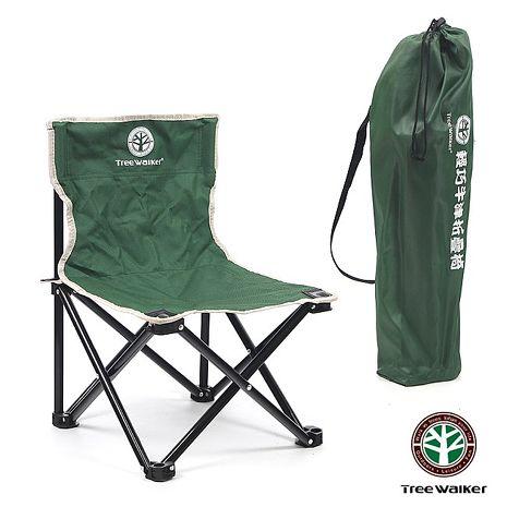 TreeWalker 輕巧牛津折疊椅-軍綠