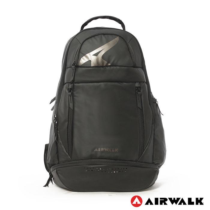 AIRWALK - 時尚造型率性運動後背包 - 黑