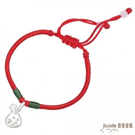J'code真愛密碼 聚福袋純銀/中國繩手鍊(預計出貨日:付款完成後3個工作天)