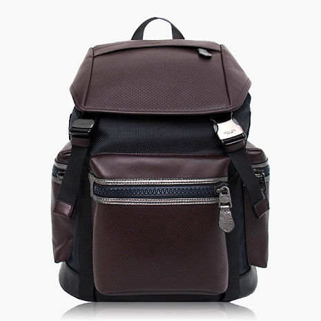 【COACH旅行必備】皮革 / 背包 / 後背包 酒紅藍